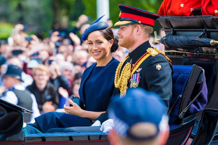 Принц Гарри и Меган Маркл сейчас живут в США