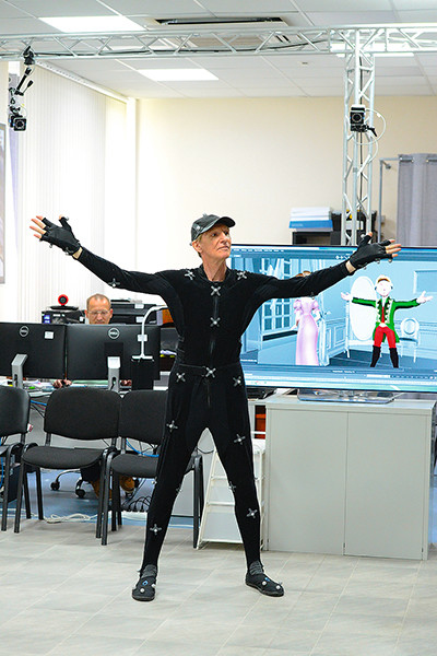 Гуру технологии 3D Сергей Лобанков занят на «Суворове»
