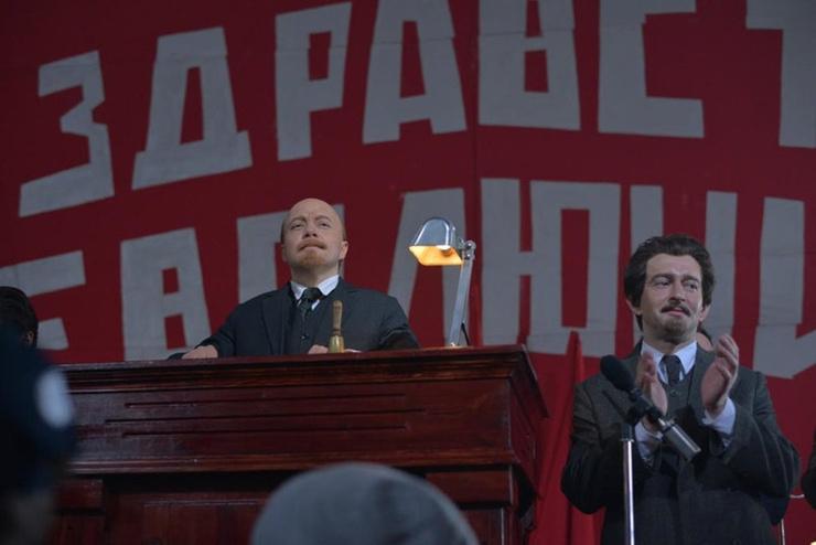 Троцкого в сериале сыграл Константин Хабенский