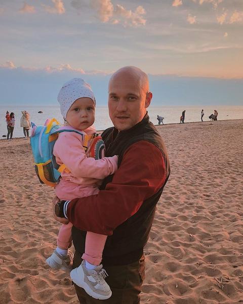 Владимир Селиванов с дочкой Евой