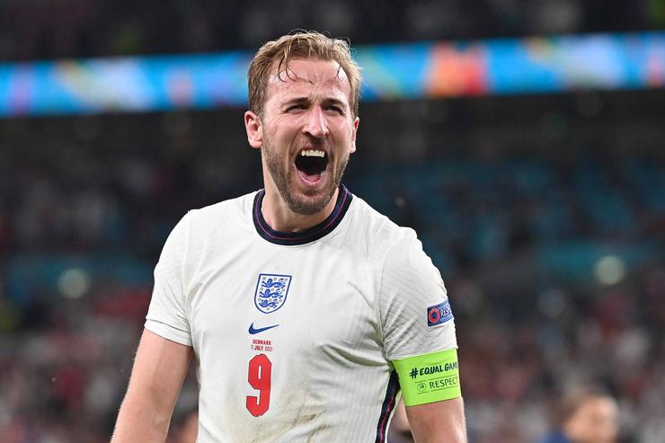 Игрок сборной Англии Гарри Кейн