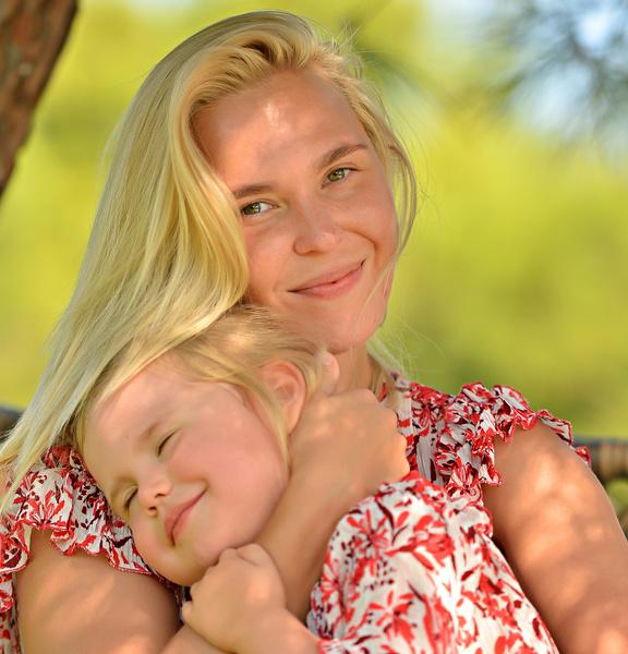 Иван Телегин впервые за долгое время увиделся с дочерью от Пелагеи