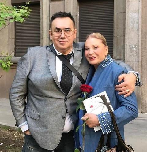 Станислав Садальский и Людмила Максакова