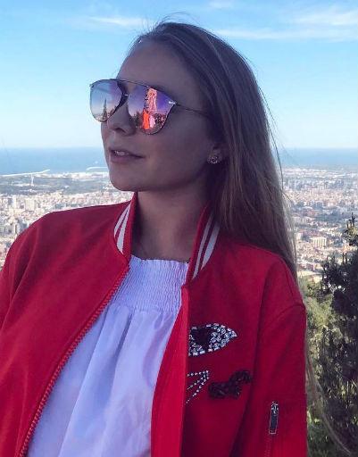 Старшая дочь Татьяны - Александра Жулина