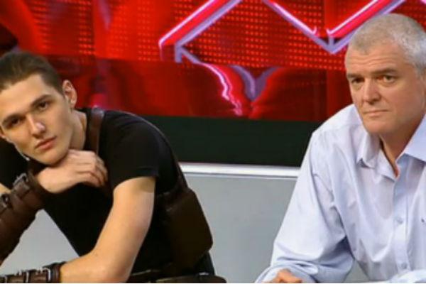 Сергей Плотников с сыном Ильей