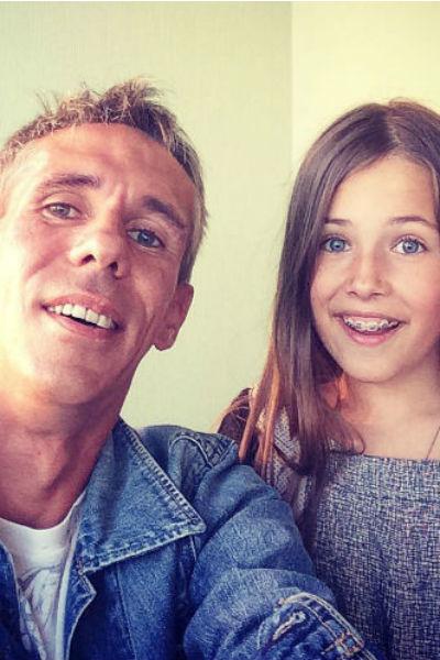 Актер старается быть хорошим отцом для маленькой дочери