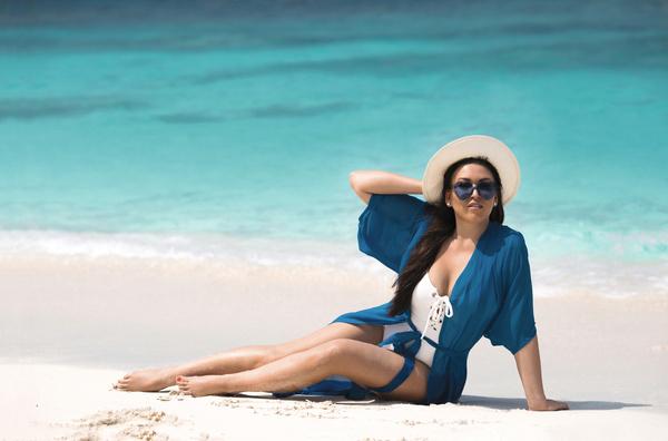Ирина любит отдыхать на Мальдивах