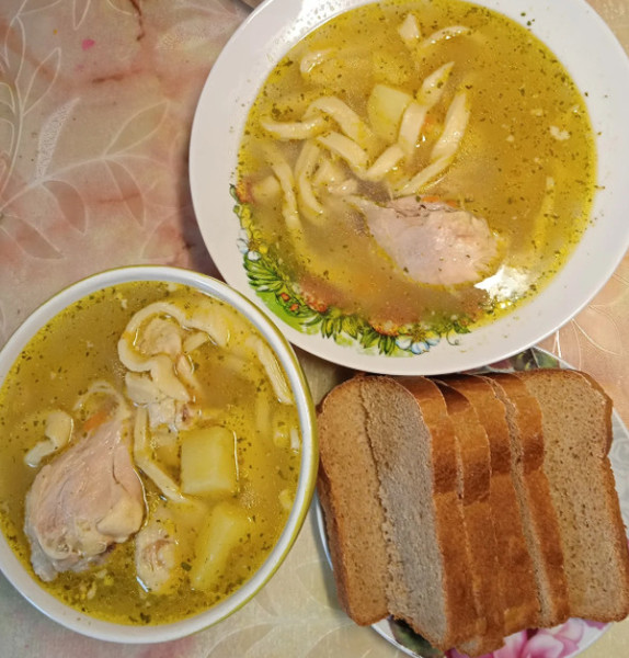 Обычный обед в доме Юлии