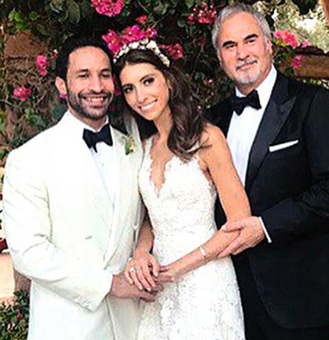 На красивой свадьбе к алтарю Ингу вел ее отец — Валерий Меладзе