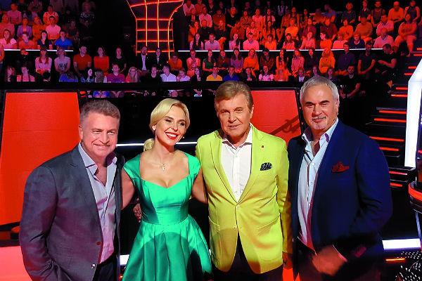 Наставники «Голос 60+»: Агутин, Пелагея, Лещенко и Меладзе