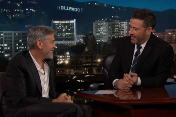 Джордж Клуни в гостях у Джимми Киммела