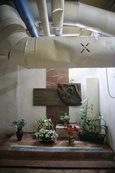 Обломки погребли под собой оператора насосов охлаждения Валерия Ходемчука