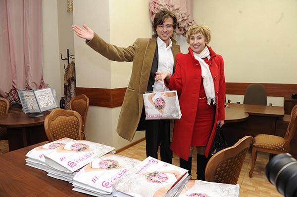 Помочь с организацией торжества жених и невеста попросили Лену Ленину