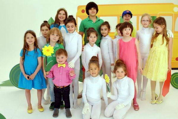 Во время съемок клипа все дети были активными участниками творческого процесса