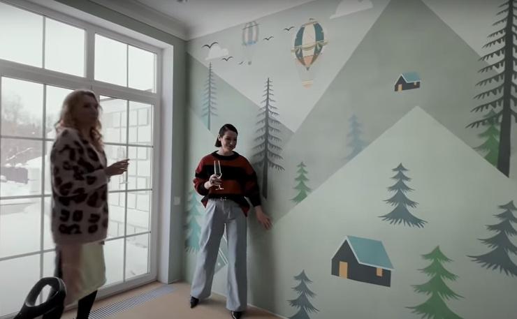 Детская комната еще не оборудована