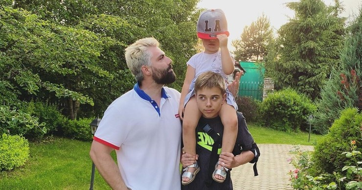 Исхаков прекрасно ладит с сыном Полины от первого брака