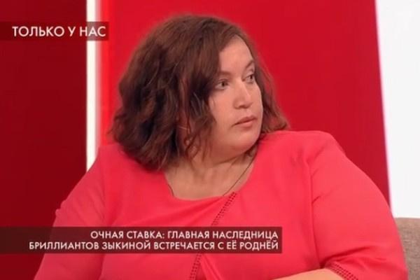 Екатерина Зыкина негативно относится к помощнице тети