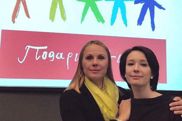Чулпан создала благотворительный фонд вместе с подругой Диной Корзун