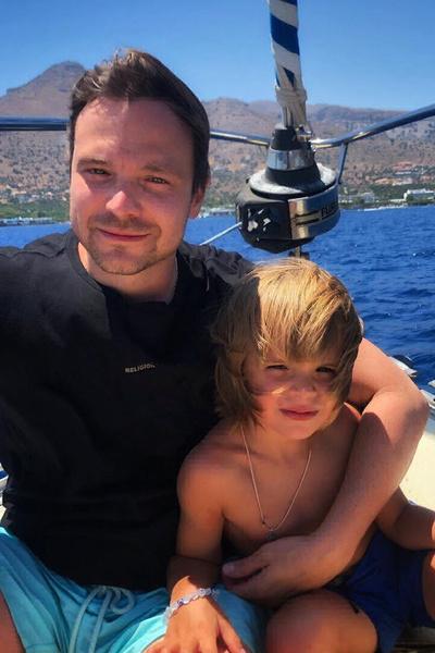 Алексей надеется, что сын не вырастет таким же самоедом, как он