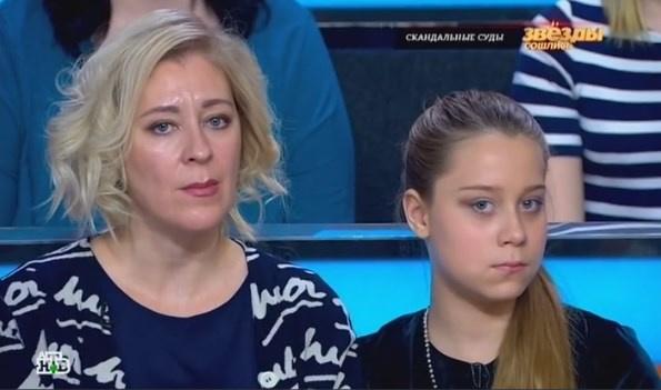 Елена Скорнякова с дочерью Настей