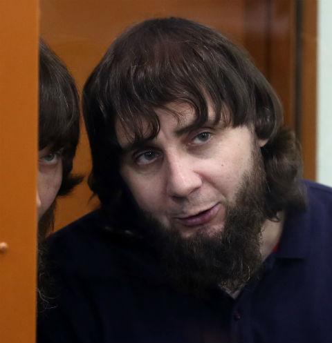 Заур Дадаев в зале суда во время оглашения приговора