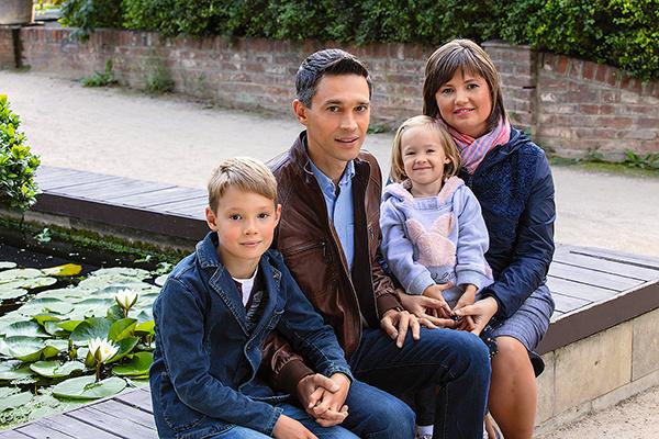 Сергей и Марина воспитывают сына Льва и дочь Марьяну