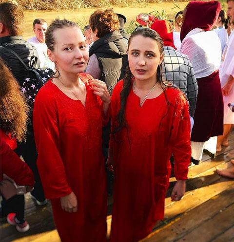 Наталья Краско с подругой в Израиле