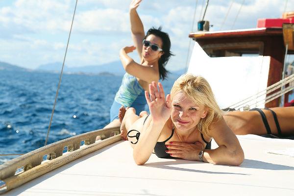 Оксана с Леной: «О mio preferenze Amore+ Dolce vita»