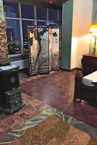 Вот так выглядит спальня Милявской