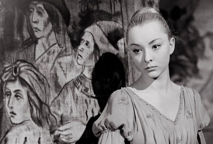 Роль Офелии Анастасия Вертинская считала первой серьезной работой в кино