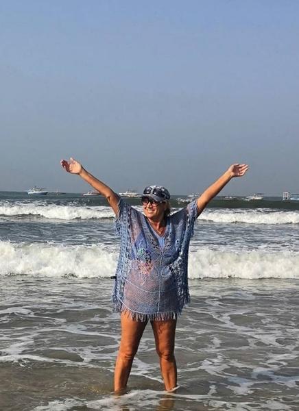 Лариса Копенкина любит путешествовать