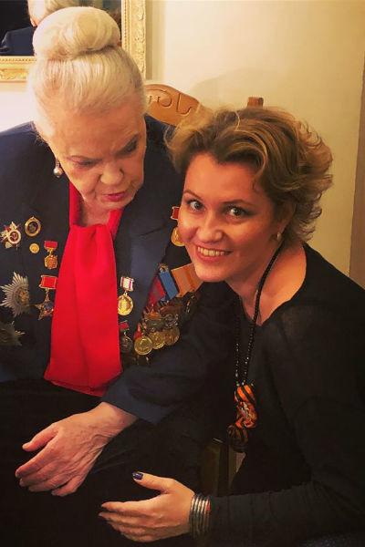 Помощница Быстрицкой Ксения Рубцова на протяжении несколько лет почти каждый день была рядом с актрисой