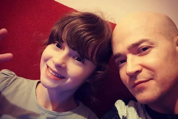 Илья с дочерью Линдой