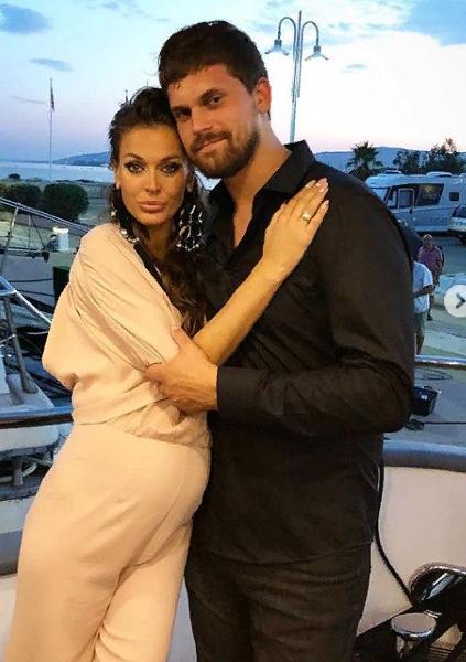 Терешина с супругом во время медового месяца