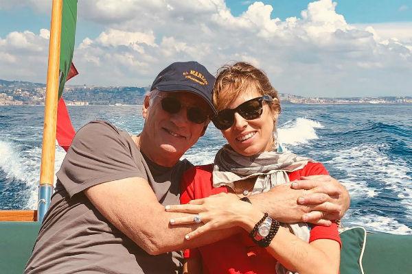 Ричард Гир с женой Александрой Силвой