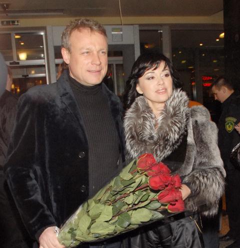 Сергей Жигунов и Анастасия Заворотнюк