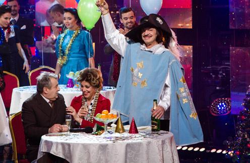 Геннадий Хазанов, Любовь Казарновская и Михаил Боярский