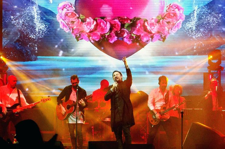 Концерты Стаса Михайлова проходят с аншлагами