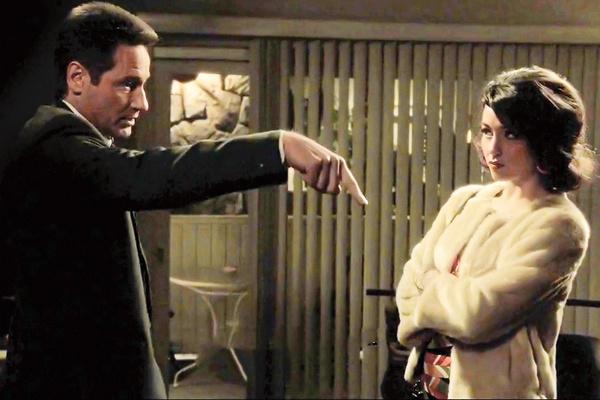 На съемках сериала «Водолей» Катя мило болтала с Дэвидом Духовны