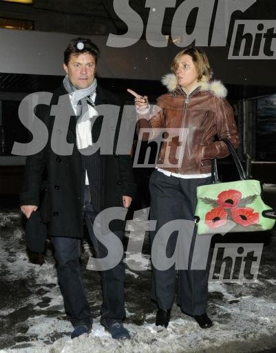Сергей Белоголовцев с супругой