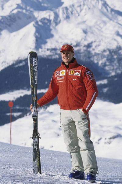 Михаэль Шумахер часто ездил на горнолыжные курорты