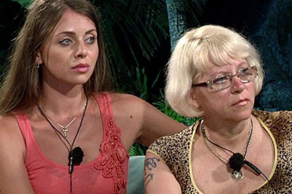Ольга Рапунцель с мамой