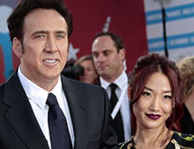 Николас Кейдж объявил о разводе с женой-азиаткой