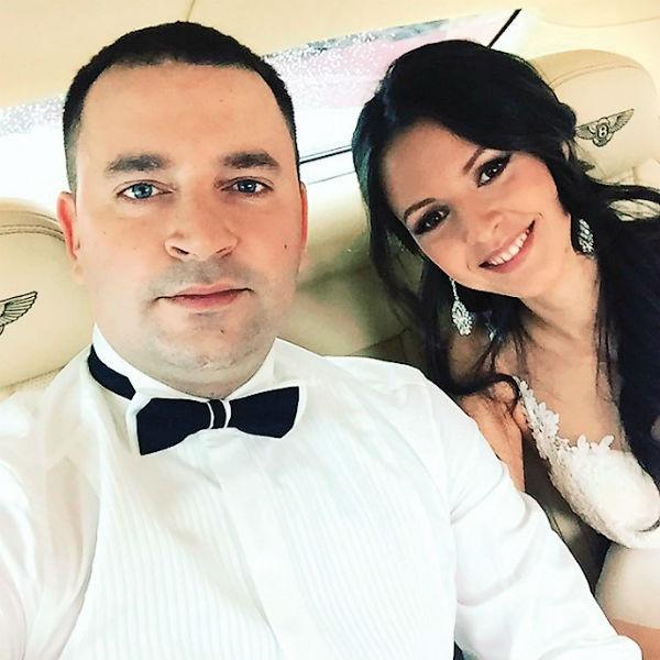 Свадьбу влюбленные сыграли в середине февраля