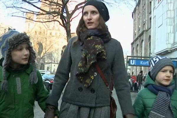 Сейчас Анастасия живет с детьми в Германии