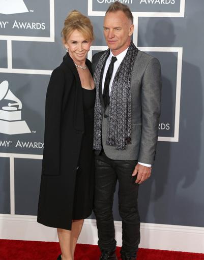 Стинг с женой Труди Стайлер
