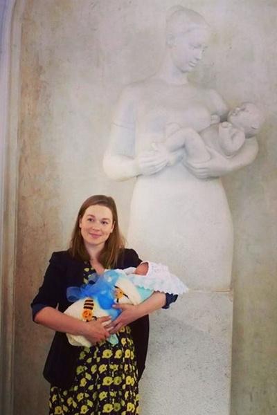 Светлана Колпакова показала сына