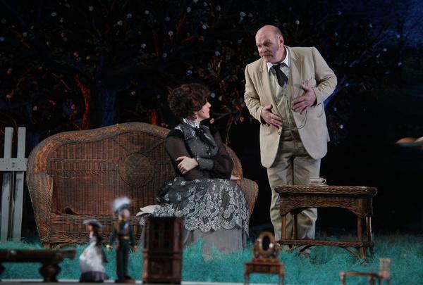 Александр востребован и на театральной сцене