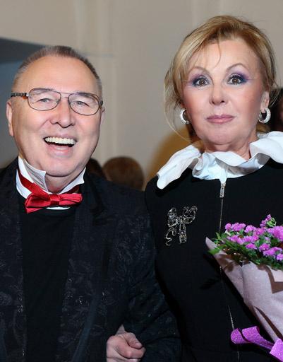 Вячеслав Зайцев и Наталья Селезнева