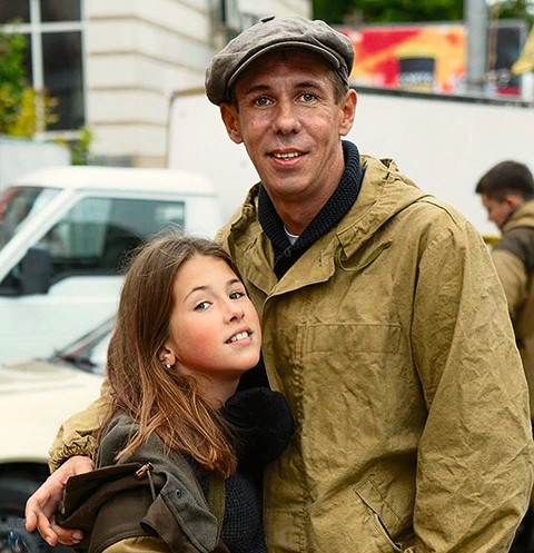 Алексей Панин с дочерью Аней
